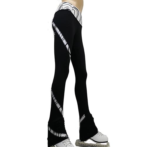 b7ca0b63e1c9b Girls Clothing Figure Skating High Print Legging Love 2 Skate