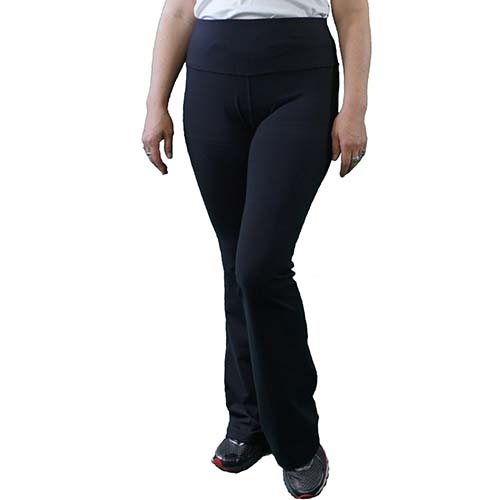 Victoria/'s Challenge Linen-look-Lycra Tummy Control Office Yoga Boot Cut 17YP-LN