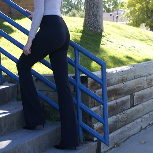 Victoria S Challenge Tall Women Tummy Control Slimming Shaping Black Flare Yoga Pants Vc8f Vc Victoria S Challenge